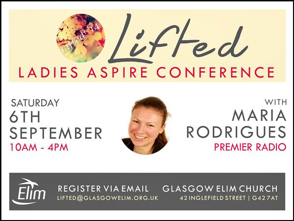Lifted Ladies Aspire Conference