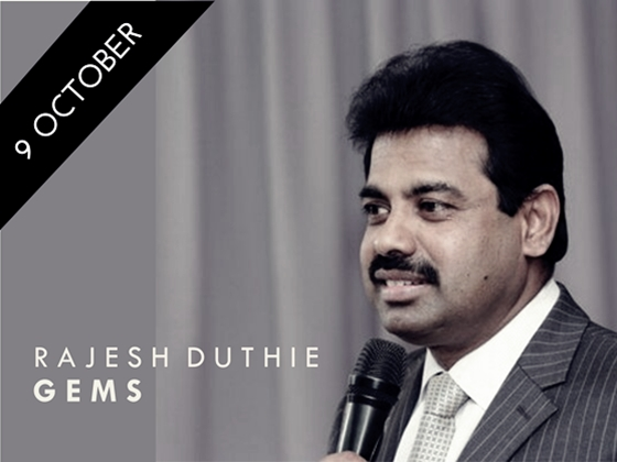 Rajesh Duthie - GEMS
