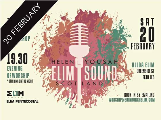 Elim Sound Scotland with Helen Yousaf