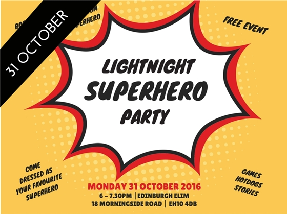 LightNight Superhero Party