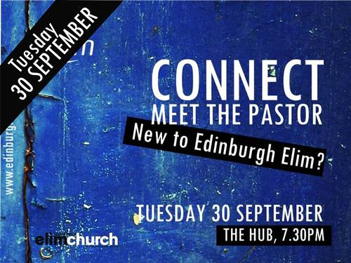 CONNECT: MEET THE PASTOR