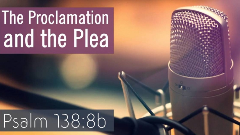 Sunday 8th December at 11am Gordon Allan speaks on 'The Proclamation and the Plea', Psalm 138   <strong>Gordon Allan - Psalm 138 -The Proclamation and the Plea</strong><strong><a href=http://www.edinburghelim.com/wp-content/uploads/2019/12/Gordon-Allan-Psalm-138-The-Proclaimation-and-the-Plea.mp3>Download here</a> or listen below.</strong>  [audio mp3=http://www.edinburghelim.com/wp-content/uploads/2019/12/Gordon-Allan-Psalm-138-The-Proclaimation-and-the-Plea.mp3\]  [/audio]